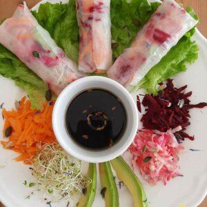Cuisine orientale vegan à dijon